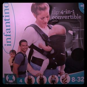 Infantino baby carrier 4 in one. Brand New in box!